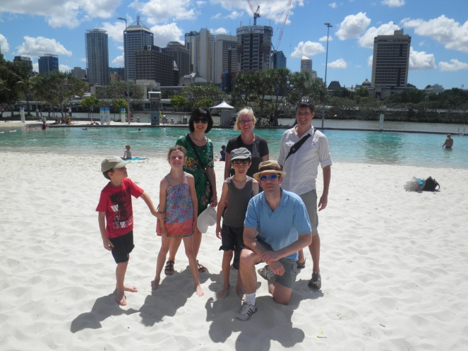 Breaka Beach, Southbank, Brisbane