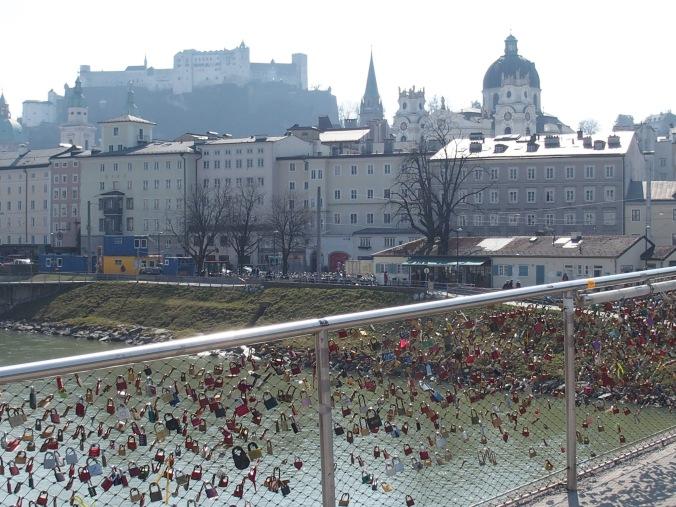 View from Makartsteg, Salzburg